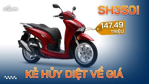 Honda SH350i - Phá giá thị trường xe tay ga phân khối lớn