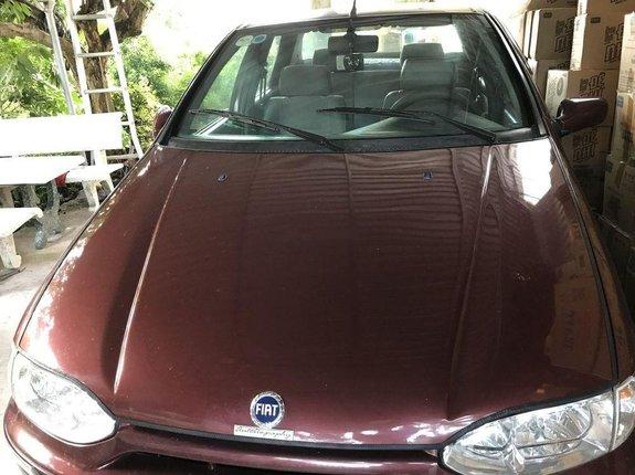 Bán xe Fiat Siena năm sản xuất 2003, màu đỏ số sàn