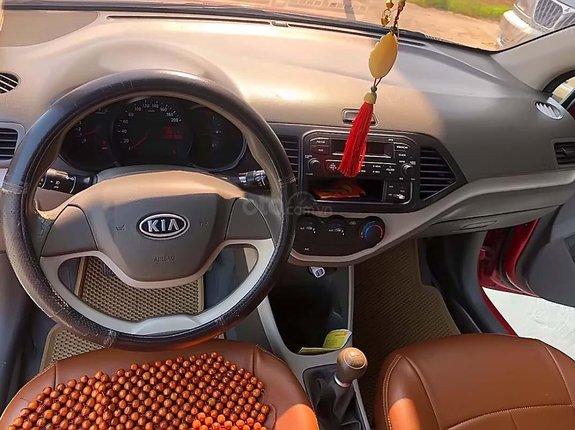 Bán Kia Morning đời 2011, màu đỏ, xe nhập