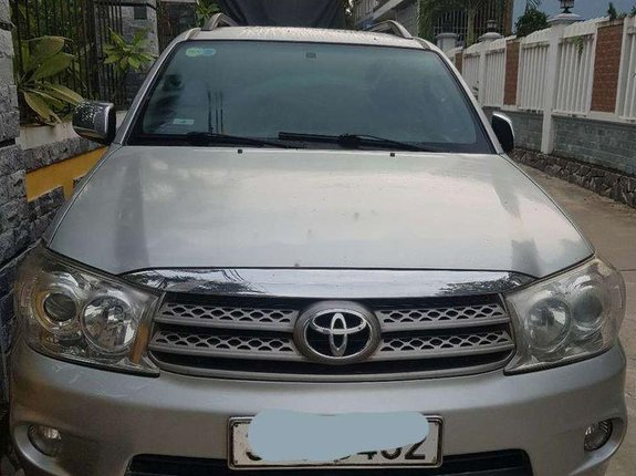 Cần bán lại xe Toyota Fortuner AT 2009