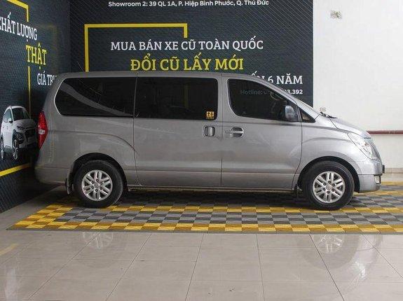 Bán Hyundai Starex 2.5MT năm 2016, màu bạc, nhập khẩu