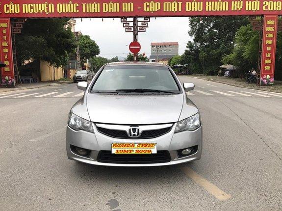 Bán Honda Civic 1.8MT đời 2009, màu xám (ghi), form mới 2010, công nhận mới thật