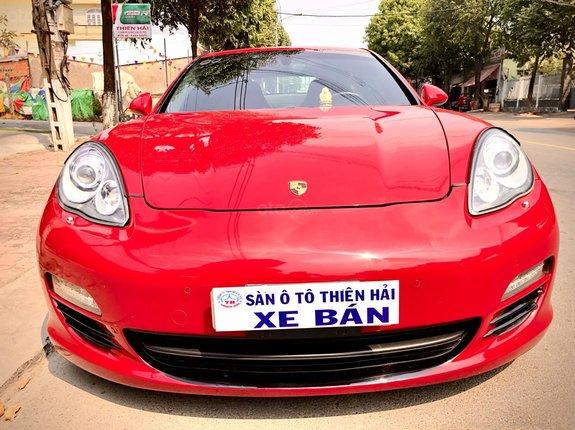 Bán Porsche Panamera đời 2011, màu đỏ còn mới