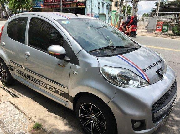 Bán ô tô Peugeot 107 sản xuất 2011, màu bạc, nhập khẩu