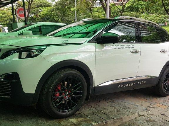Cần bán Peugeot 3008 năm 2017, màu trắng, số tự động