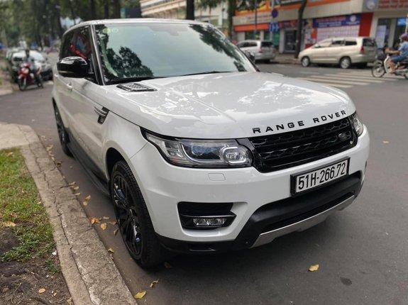 Bán ô tô LandRover Sport đăng ký lần đầu 2014, màu trắng, xe gia đình, giá chỉ 2 tỷ 790 triệu đồng