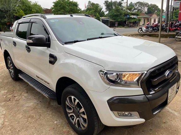 Bán Ford Ranger sản xuất năm 2015, màu trắng, nhập khẩu