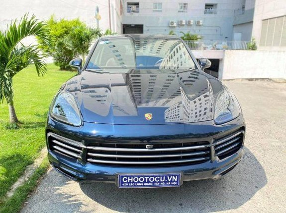Cần bán xe Porsche Cayenne đời 2018, màu xanh lam