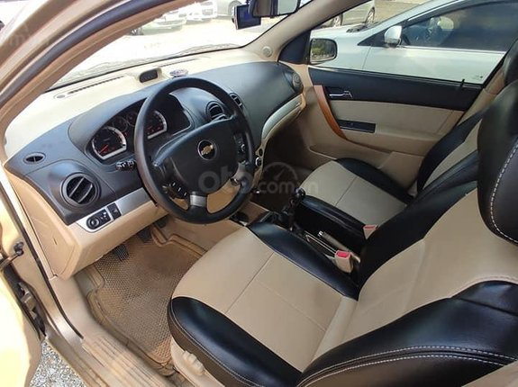 Cần bán lại xe Chevrolet Aveo MT năm 2015, màu vàng cát, giá bay nhanh
