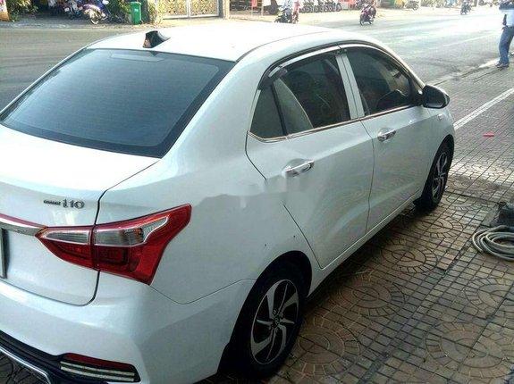 Xe Hyundai Grand i10 sản xuất 2017, màu trắng chính chủ, giá tốt