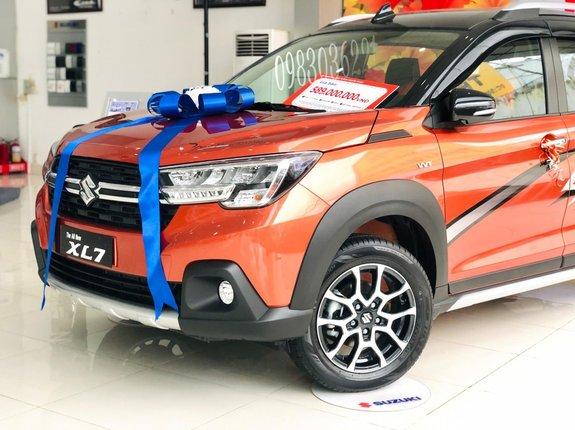 Suzuki Sài Gòn Ngôi Sao bán Suzuki XL7  tặng ngay 20tr tiền mặt + full option + đủ màu giao xe ngay, trả góp 85%