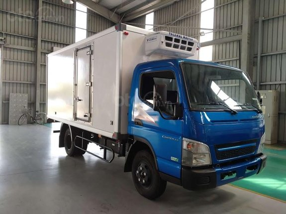 Thaco Phan Thiết - Bình Thuận bán xe tải Fuso Canter 6.5 đông lạnh năm sản xuất 2020