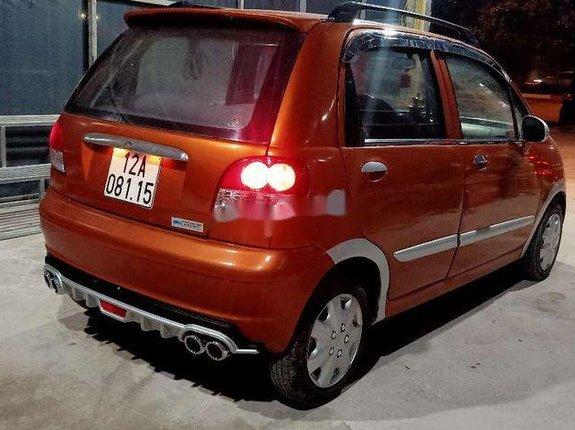 Cần bán Daewoo Matiz năm 2007, màu cam