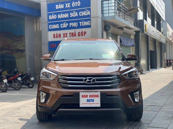 Bán Hyundai Creta 1.6 AT sản xuất năm 2015 đăng kí 2016, xe nhập khẩu