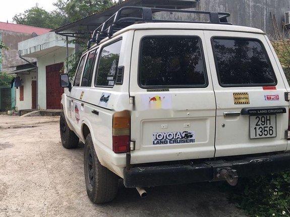 Bán Toyota Land Cruiser sản xuất năm 1990, màu trắng