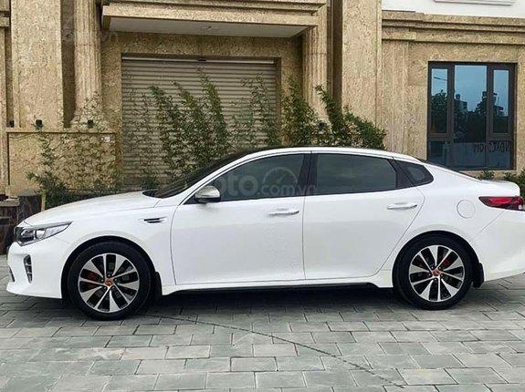 Bán Kia Optima năm 2016, màu trắng, nhập khẩu nguyên chiếc còn mới