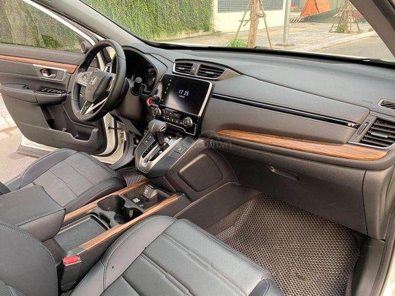 1 chủ từ đầu sử dụng, Honda CR V đời 2018, màu trắng, giá tốt nhất thị trường