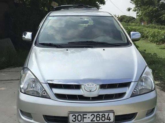 Cần bán gấp Toyota Innova G năm 2007, màu bạc, giá 257tr