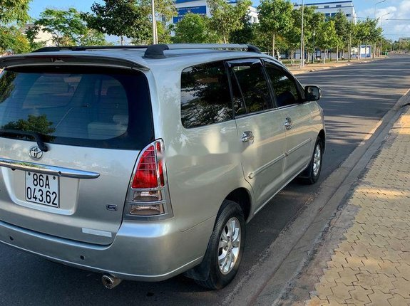 Bán Toyota Innova G 2007, màu bạc xe gia đình