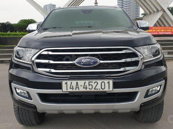 Cần bán lại xe Ford Everest Bi-Turbo 4WD Titanium sản xuất năm 2019