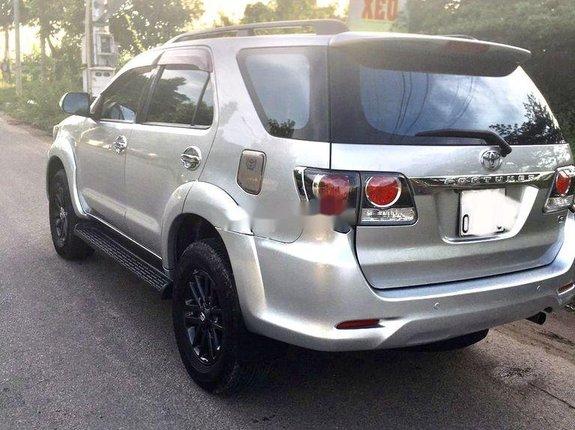 Cần bán Toyota Fortuner năm 2016, màu bạc
