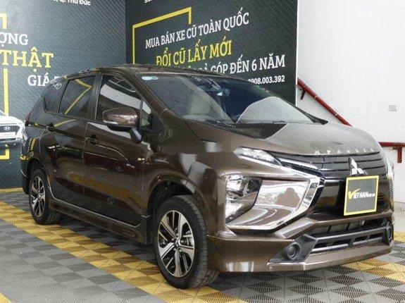 Bán Mitsubishi Xpander 1.5MT sản xuất năm 2018, màu nâu, xe nhập, giá tốt