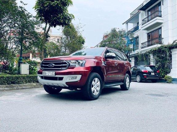 Bán xe Ford Everest sản xuất năm 2019, màu đỏ