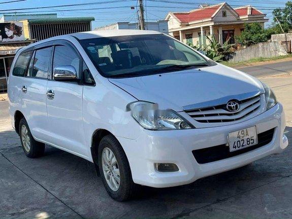 Bán Toyota Innova 2009, màu trắng, nhập khẩu chính chủ