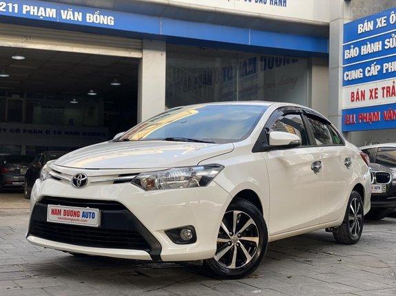 Toyota Vios 1.5 E AT 2016 model 2017, đi lướt 60000km tên cá nhân chính chủ