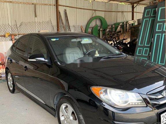 Bán xe Hyundai Avante đời 2011, màu đen, nhập khẩu còn mới