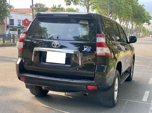 Cần bán gấp Toyota Prado TXL đời 2014, màu đen, nhập khẩu
