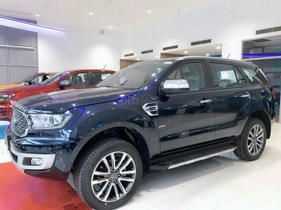 Cao Bằng bán Ford Everest Titanium 2021, giá cực tốt, ký giao ngay. Hỗ trợ vay 80%, lãi suất thấp nhất, giao xe tại nhà