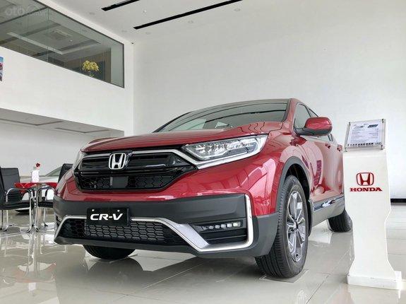 [Honda Ô Tô Tiền Giang ] Honda CR V, ưu đãi khủng, xe giao ngay, tặng quà lớn