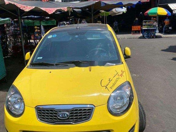 Cần bán lại xe Kia Morning 1.1 AT 2012, màu vàng chính chủ, 228 triệu