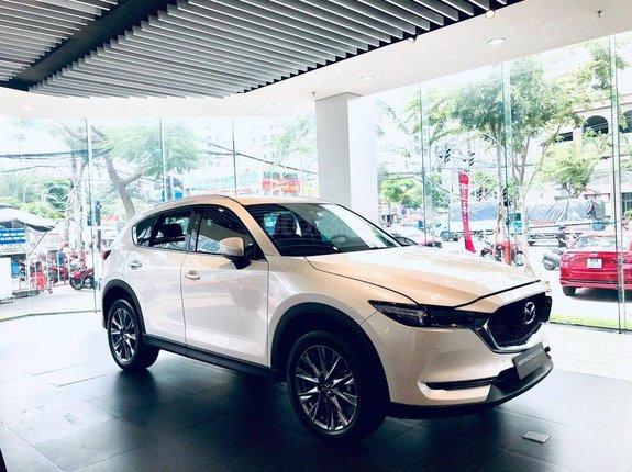Bán xe Mazda CX 5 2021, màu trắng, 859 triệu