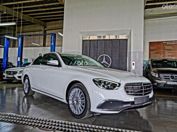 Mercedes-Benz E200 phiên bản 2021, giá tốt chương trình ưu đãi