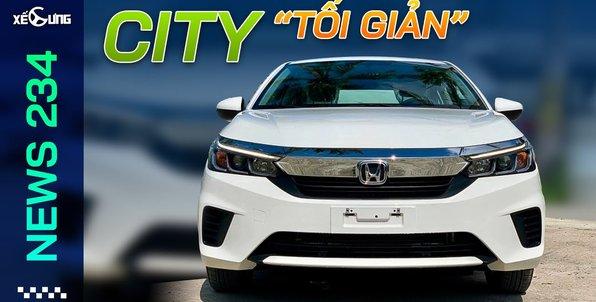 Honda City tuyên chiến Toyota phân khúc giá rẻ   Xế Cưng News 234