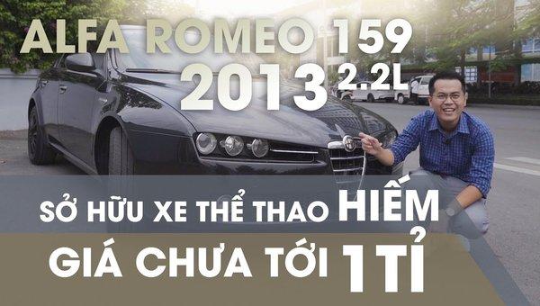 XE NGON GIÁ TỐT | Xe thể thao hiếm Alfa Romeo 159 đời 2013 giá chưa tới 1 tỉ.0