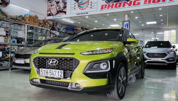 XE NGON GIÁ TỐT | Hyundai Kona 2019 1.6T màu xanh chuối độc đáo chờ chủ đón về giá chỉ 700 triệu.2