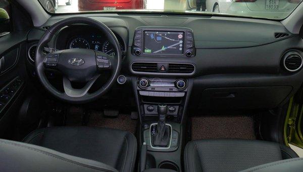 XE NGON GIÁ TỐT | Hyundai Kona 2019 1.6T màu xanh chuối độc đáo chờ chủ đón về giá chỉ 700 triệu.3