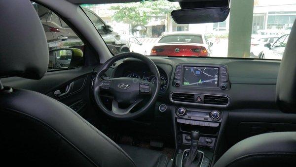 XE NGON GIÁ TỐT | Hyundai Kona 2019 1.6T màu xanh chuối độc đáo chờ chủ đón về giá chỉ 700 triệu.6