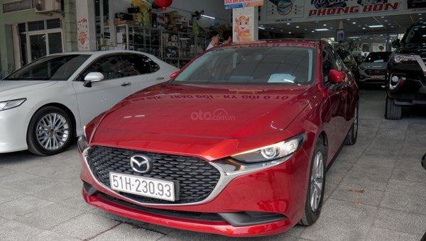 XE NGON GIÁ TỐT   Xe sedan lướt MAZDA 3 với ODO 12.000 km có giá chỉ hơn 600 triệu đồng.1