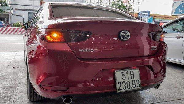 XE NGON GIÁ TỐT | Xe sedan lướt MAZDA 3 với ODO 12.000 km có giá chỉ hơn 600 triệu đồng.4