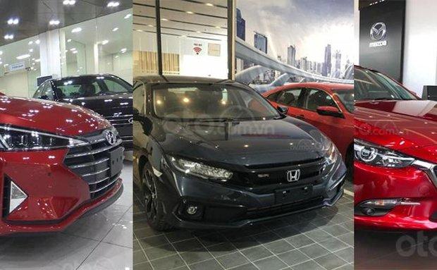 Toyota Corolla Altis 2020 rập rịch về nước, giá đại lý các mẫu xe khác trong phân khúc có gì biến động?