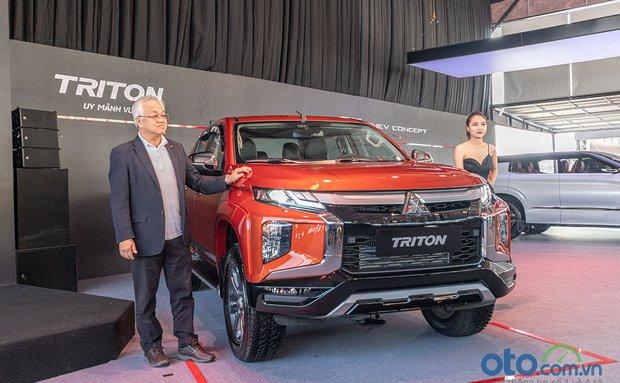Mitsubishi Triton 2020 trình làng thị trường Việt, loại bỏ phiên bản cũ, giá từ 600 – 865 triệu đồng