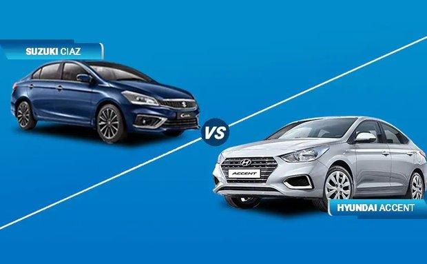 Infographic] Trong tầm giá 600 triệu, mua Suzuki Ciaz 2020 hay Hyundai  Accent 2020?