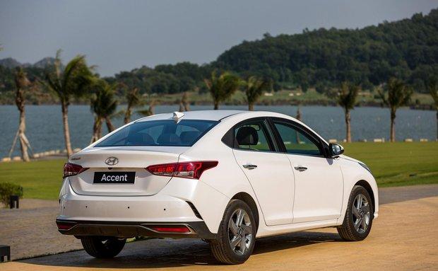 Giá lăn bánh xe Hyundai Accent 2021 mới nhất tại Việt Nam