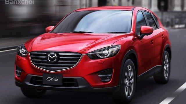 Đánh giá xe Mazda CX-5 2016 về loạt nâng cấp nội ngoại thất