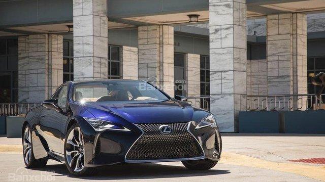 Đánh giá xe Lexus LC 2018