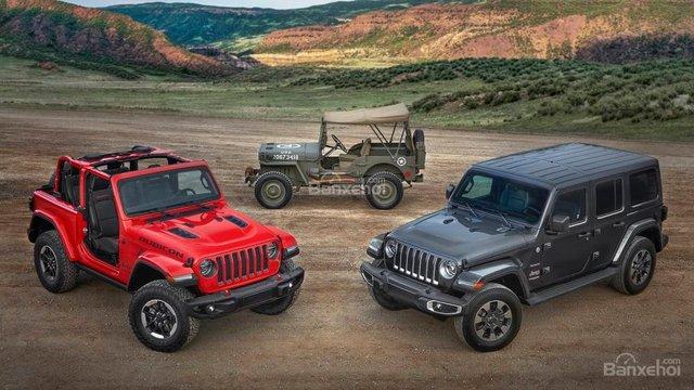 Đánh giá xe Jeep Wrangler 2018-2019
